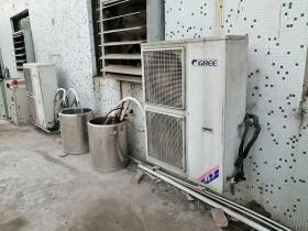 格力空调柜机改造成小型冷水机