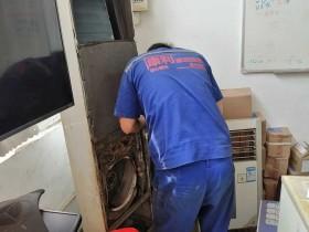 沙浦围社区空调上电跳闸维修案例