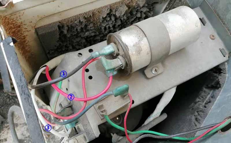 更换压缩机电容