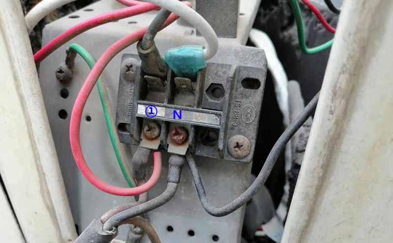 空调外机接线端子排