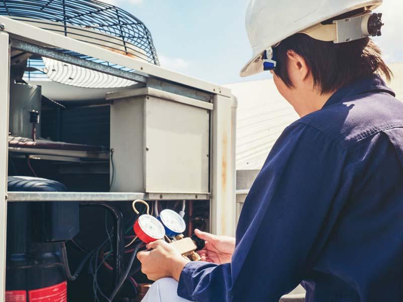 中央空调检修2