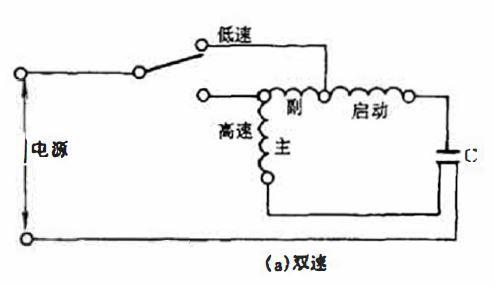 多速电机接线图