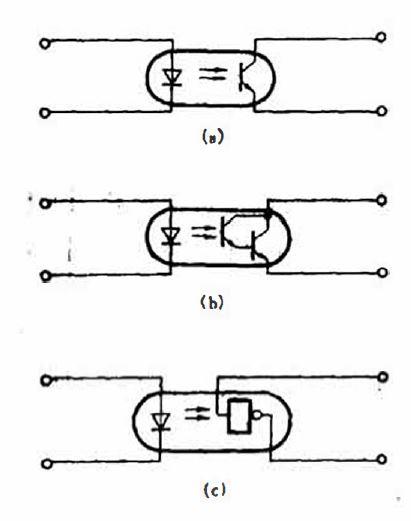 光电耦合器的典型电路