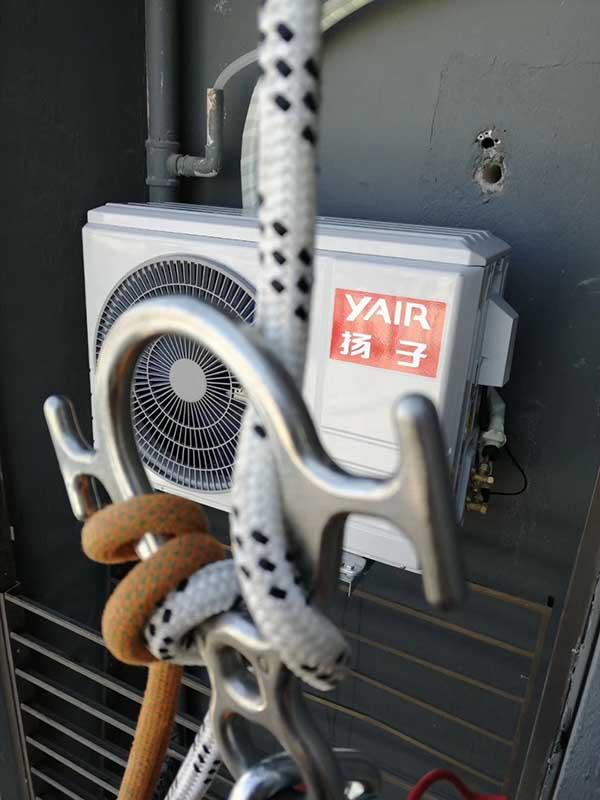 扬子空调外机检修
